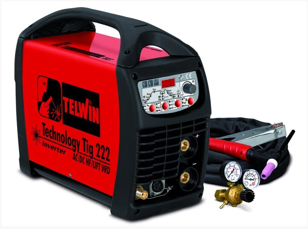 Technology Tig 222 AC/DC-HF/LIFT 230V+ACC 852054